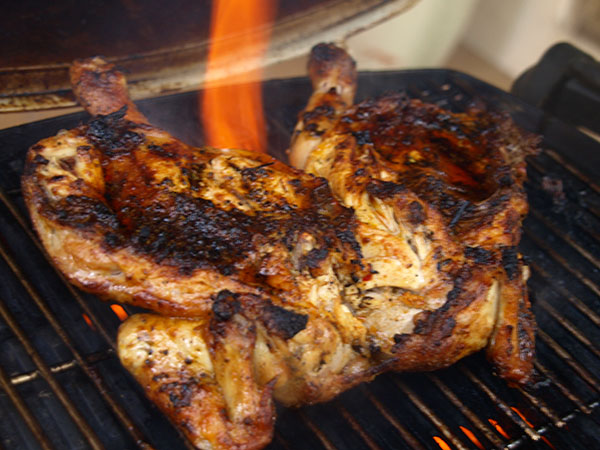 Quick recipe for Grilled Portugese Chicken
